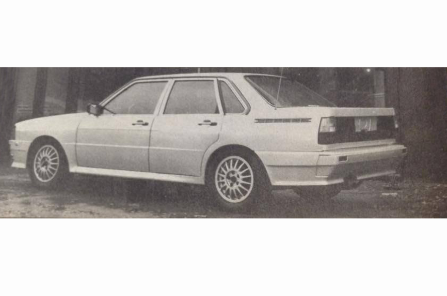 Artz Audi Quattro/Audi 80 combination car