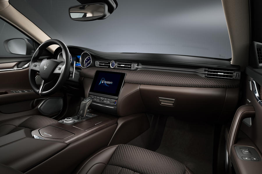 Zegna Pelletessuta interior of the Maserati Granturismo MC