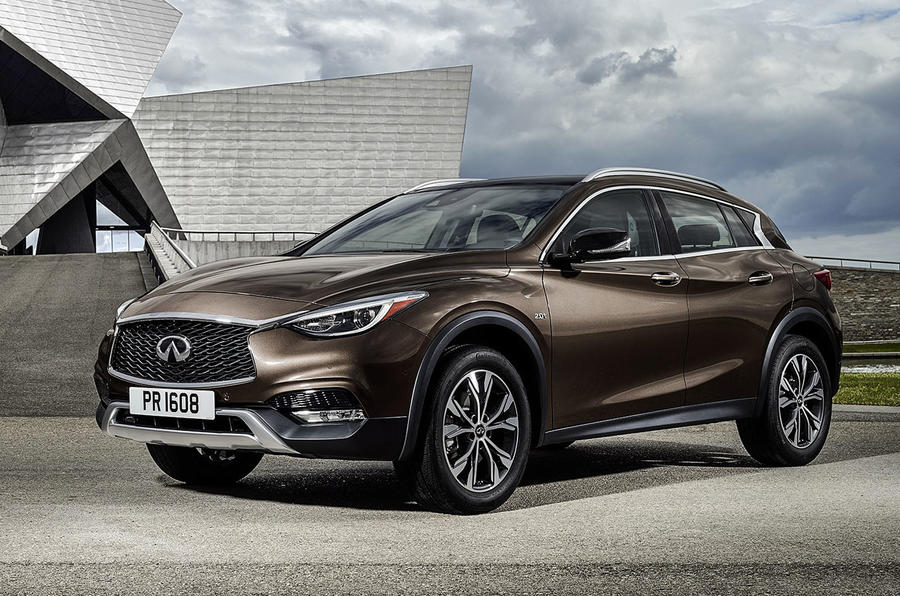 2016 infiniti qx30 pricing confirmed autocar. Black Bedroom Furniture Sets. Home Design Ideas