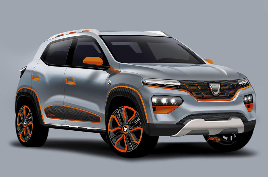 Dacia - front