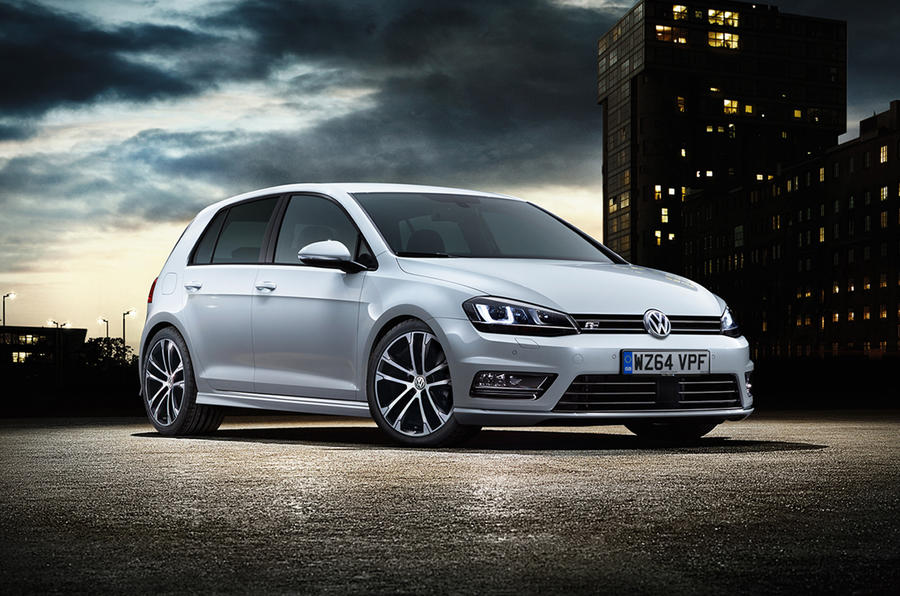 The R-line is available with VW's 1.4-litre TSI petrol or 2.0-litre TDI diesel engine