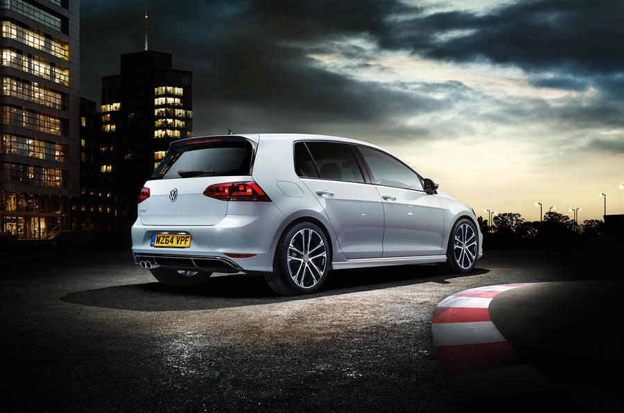 The new Golf R-line is priced from £24,190 and features sporty cosmetic changes