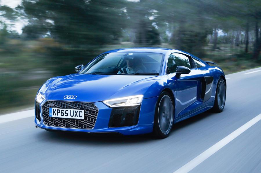Audi R V Plus Review Review Autocar - Audi r8 v10 plus