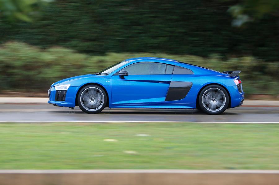 £134,500 Audi R8 V10 Plus