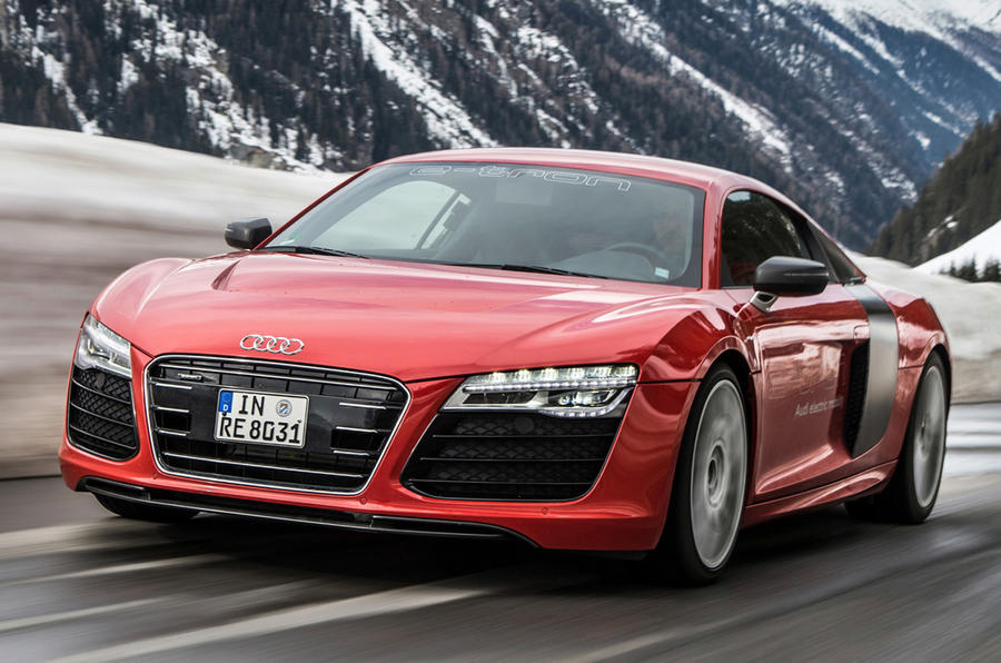 audi r8 e tron ceases production autocar. Black Bedroom Furniture Sets. Home Design Ideas