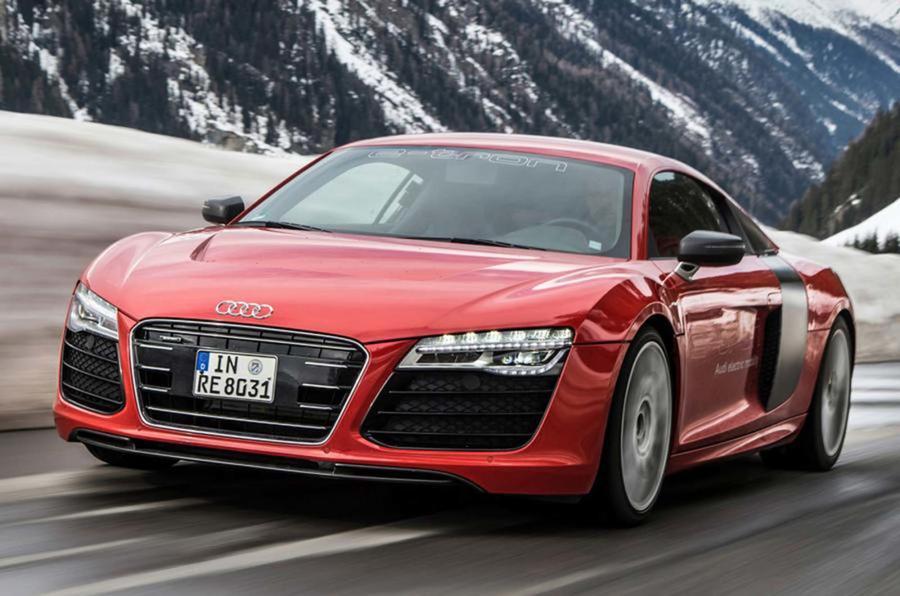 Audi R8 E Tron ...