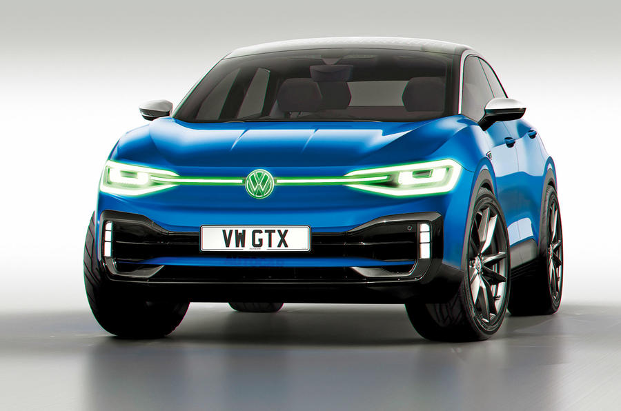 VW GTX render