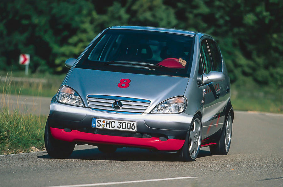 It's hard to track down any used Mercedes-Benz A-Class Hakkinen Editions