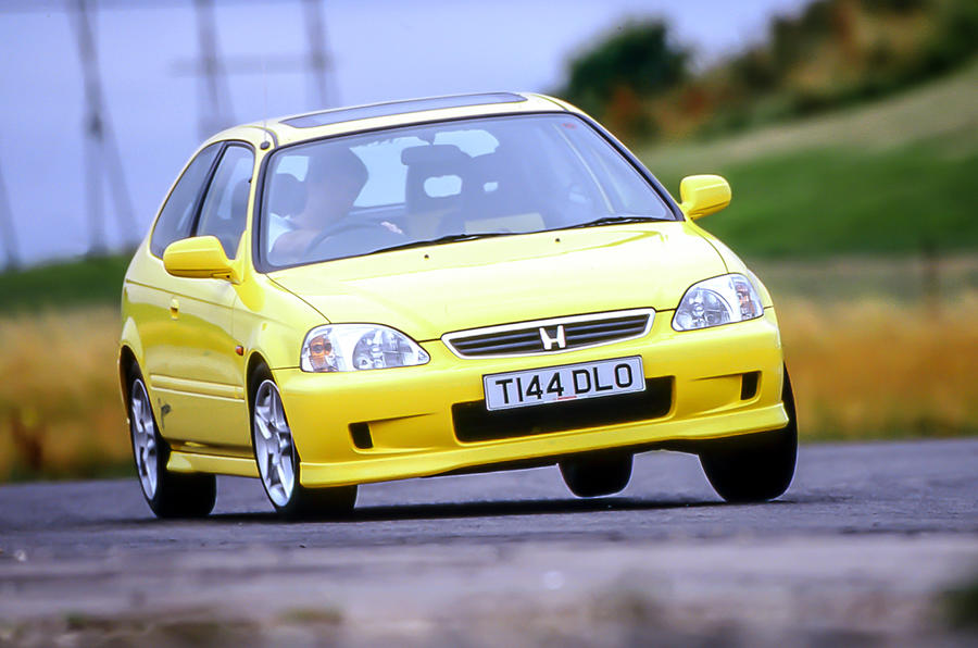 The Honda Civic Jordan boasted 160bhp and a top speed of 140mph
