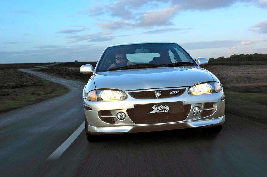 The Proton Satria GTI Lotus got rave reviews in 1999
