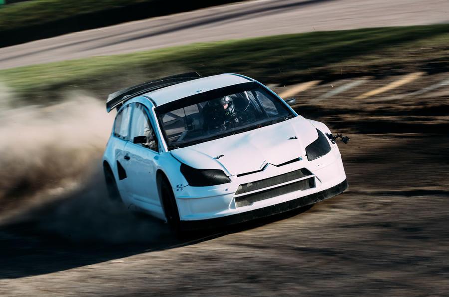 Rallycross supercar test: driving a 600bhp monster at Lydden Hill ...