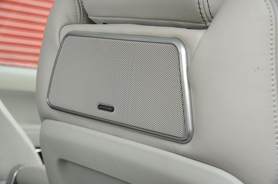 Range Rover rear speakers