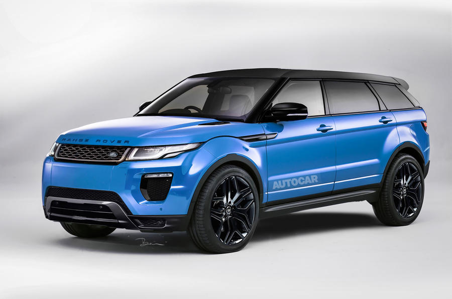 New Range Rover Grand Evoque Planned For 2016 Autocar