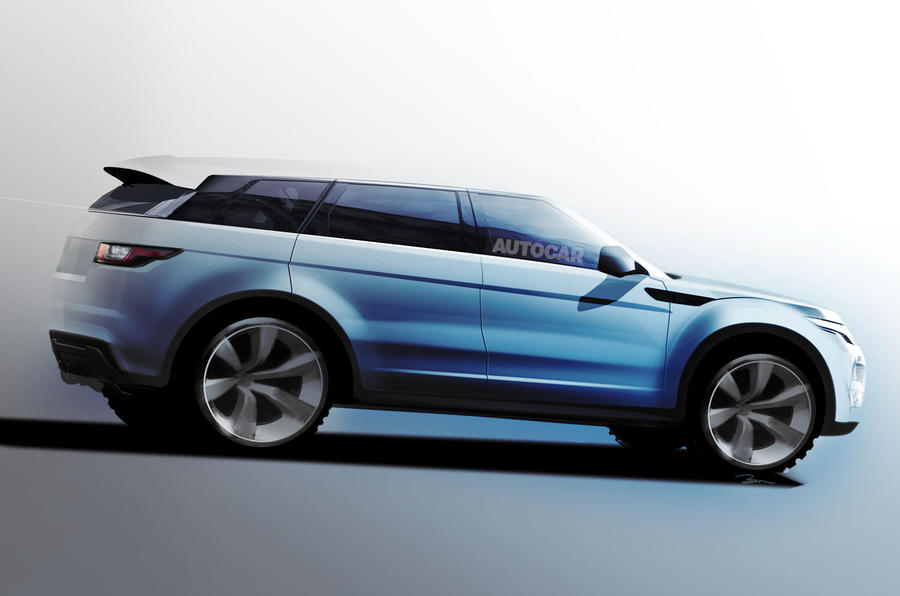 new range rover 39 grand evoque 39 planned for 2016 autocar. Black Bedroom Furniture Sets. Home Design Ideas