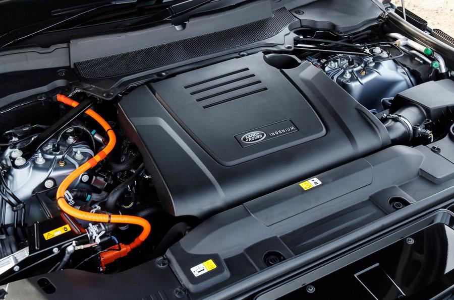 Range Rover Sport P E Phev Engine
