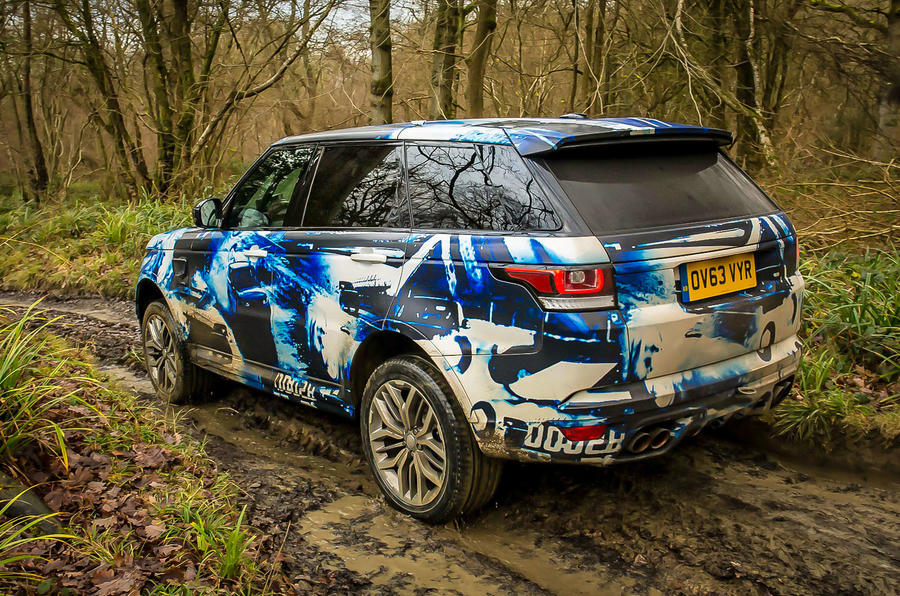 2015 Range Rover Sport SVR – new pictures and passenger ...