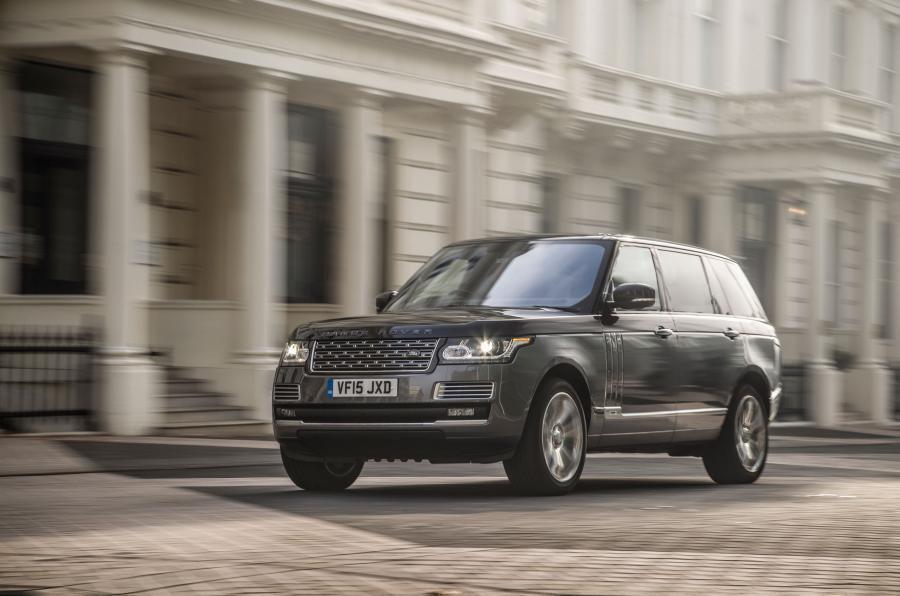 Top 10 super SUVs Range Rover SVAutobiography