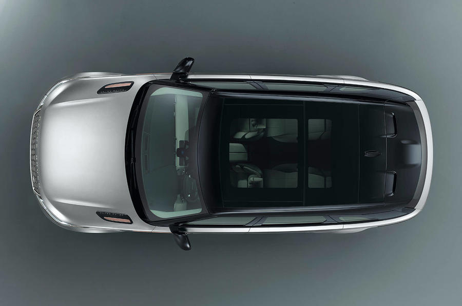 range rover velar concept birds eye view
