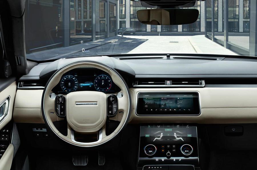 range rover velar interior dash