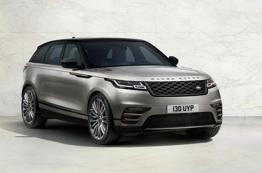 range rover velar front concept
