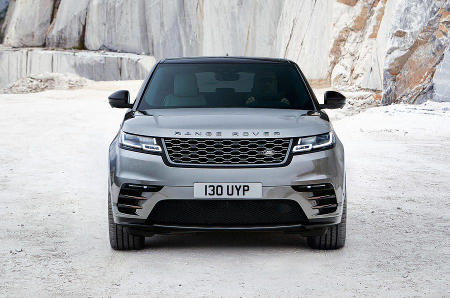 range rover velar outdoors front