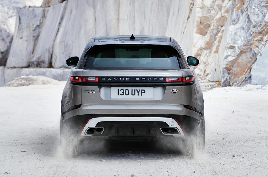 range rover velar outdoors rear
