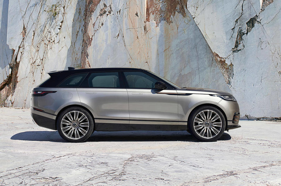 range rover velar side outdoor