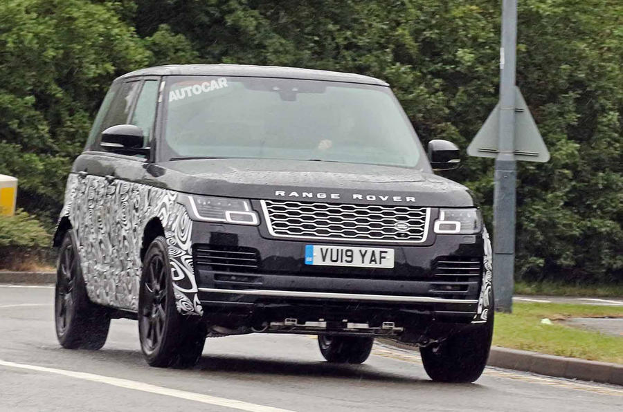 New Range Rover >> New 2021 Range Rover Spotted With Bmw V8 Engine Autocar