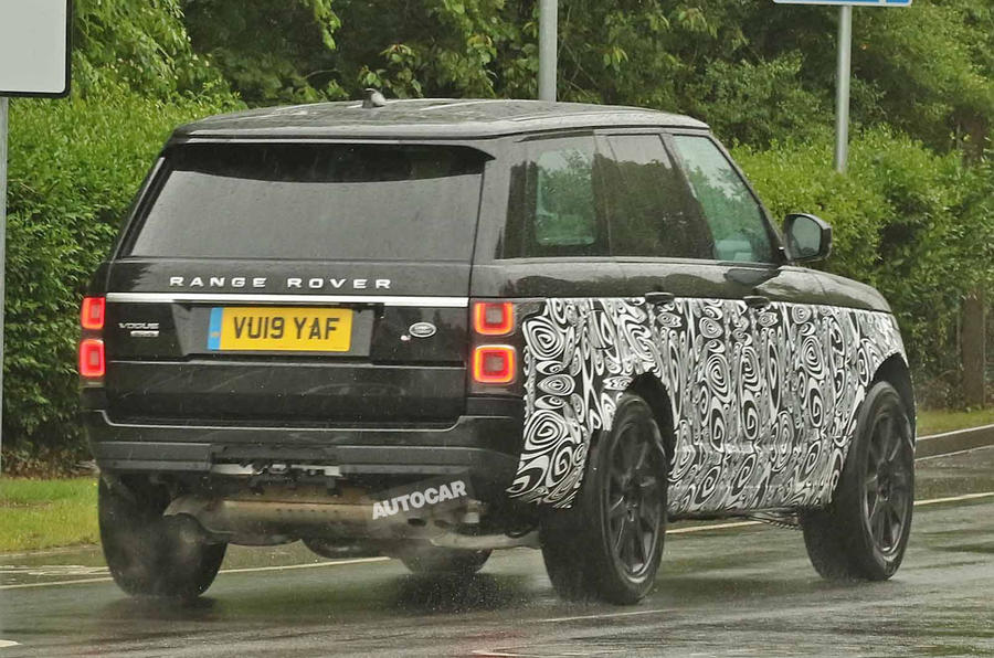 New 2021 Range Rover spotted with BMW V8 engine | Autocar