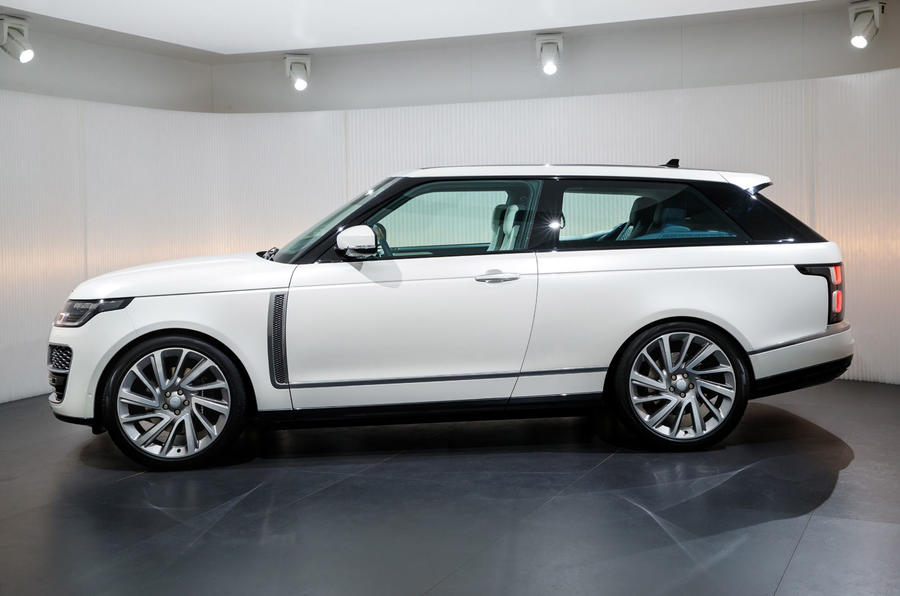 limited run 240k range rover sv coup revealed autocar. Black Bedroom Furniture Sets. Home Design Ideas