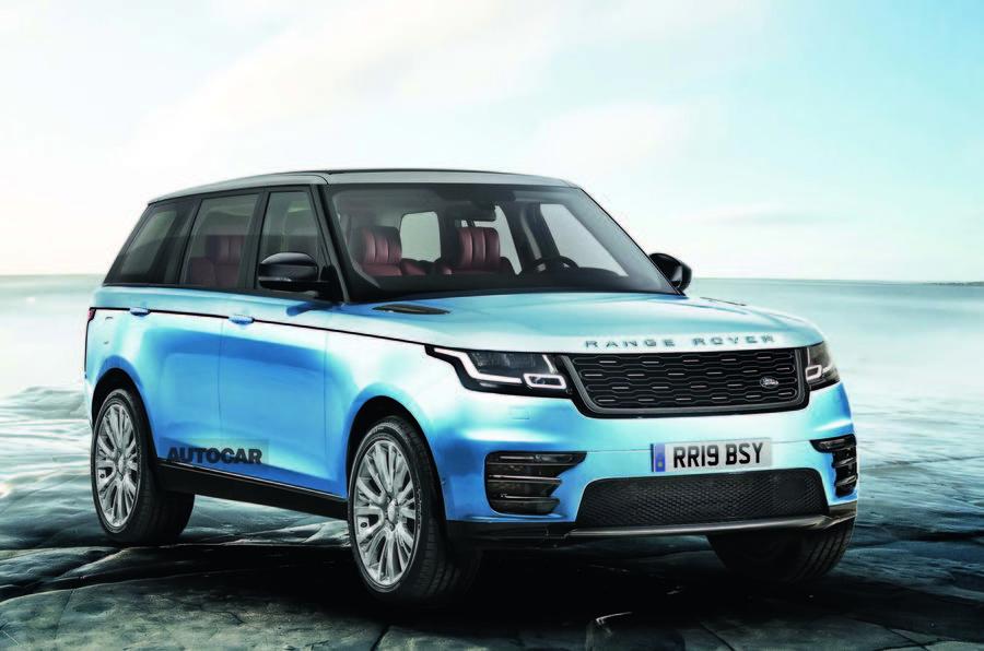 Mk5 Range Rover render