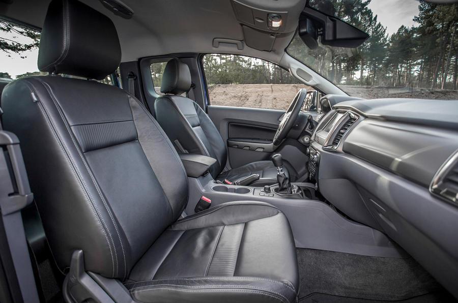 Ford Ranger Wildtrak interior