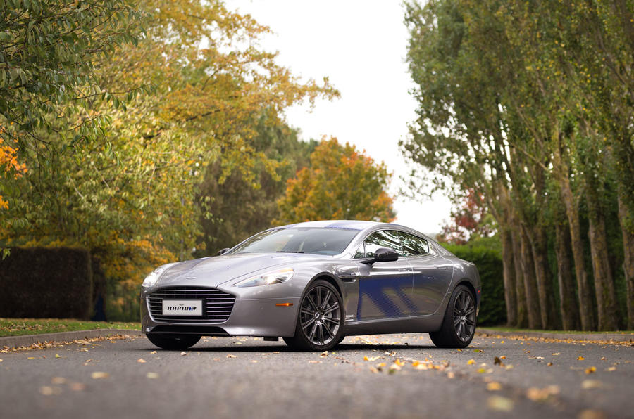 Aston Martin boss: RapidE to target 'very different' customer to Model S