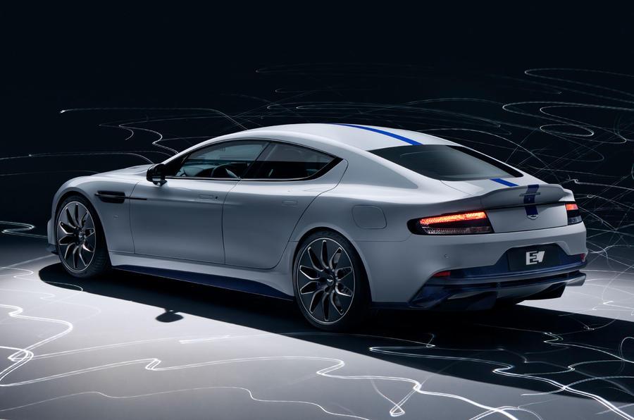 2019 Aston Martin Rapide E  - rear