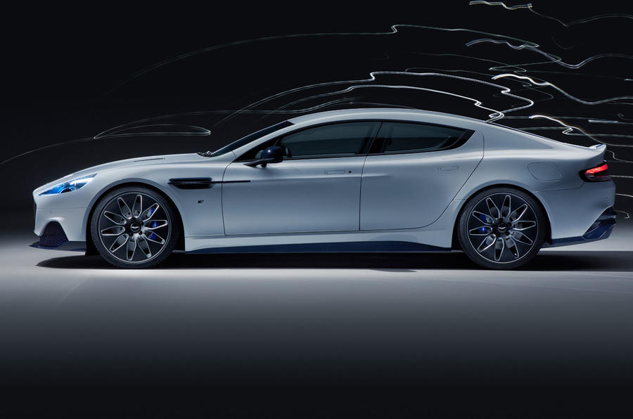 2019 Aston Martin Rapide E  - side