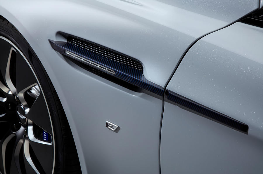 2019 Aston Martin Rapide E  - vent