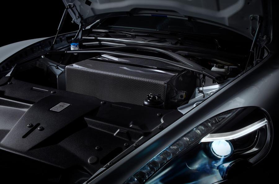 2019 Aston Martin Rapide E  - motor