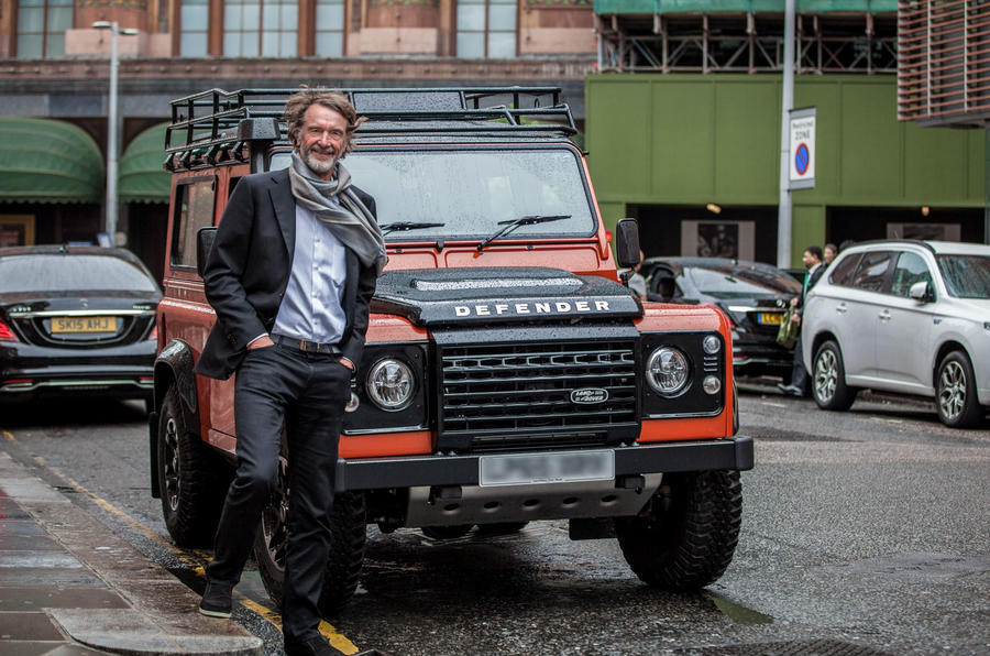 Used Land Rover Defender >> Ineos considers Bridgend as factory for new SUV | Autocar