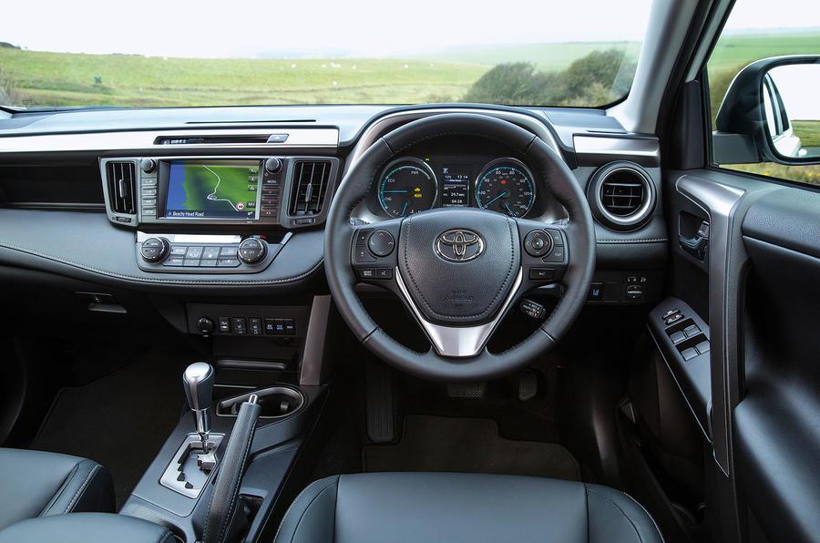 Toyota RAV4 Hybrid dashboard