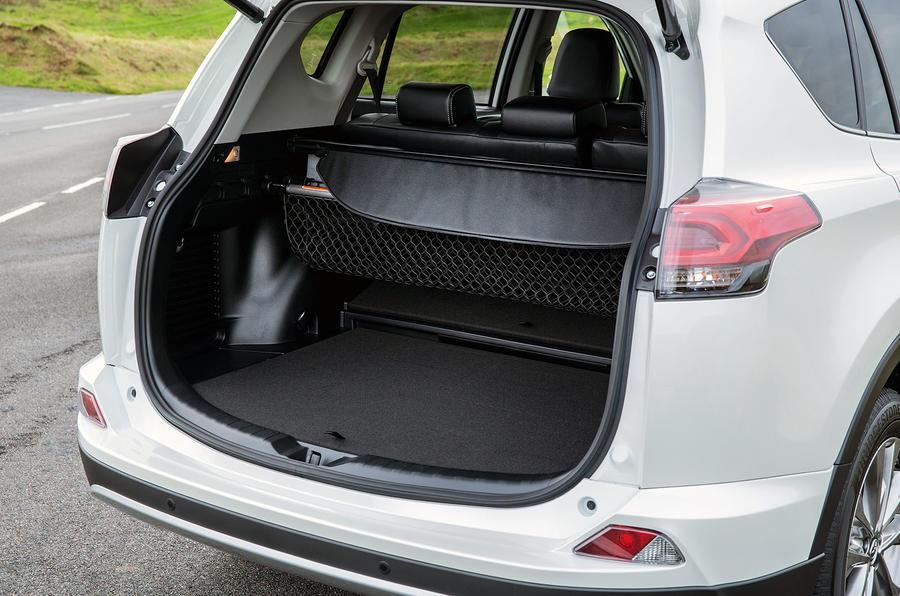 Toyota RAV4 Hybrid boot space