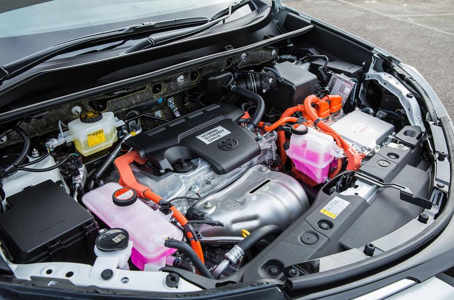 2.5-litre Toyota RAV4 Hybrid engine