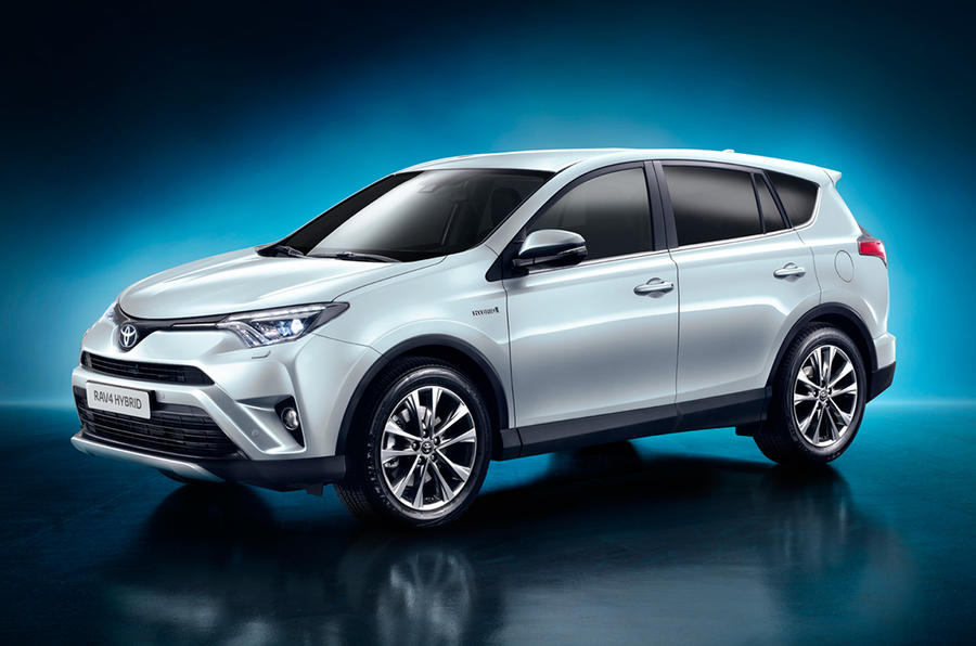 the fourth generation toyota rav4 facelift is set to go on sale in