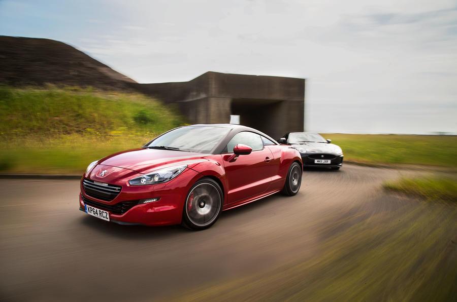New Peugeot RCZ R versus used Jaguar XKR - comparison | Autocar