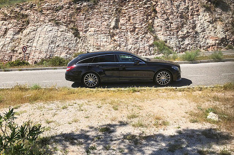 Mercedes-Benz CLS 220d Shooting Brake