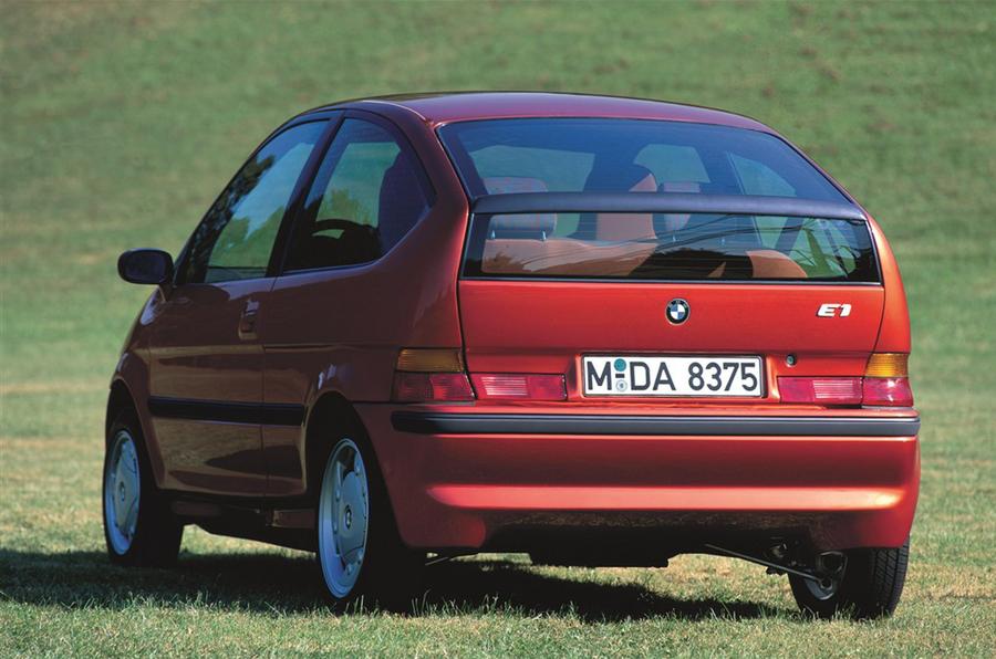 1992 BMW E1 rear