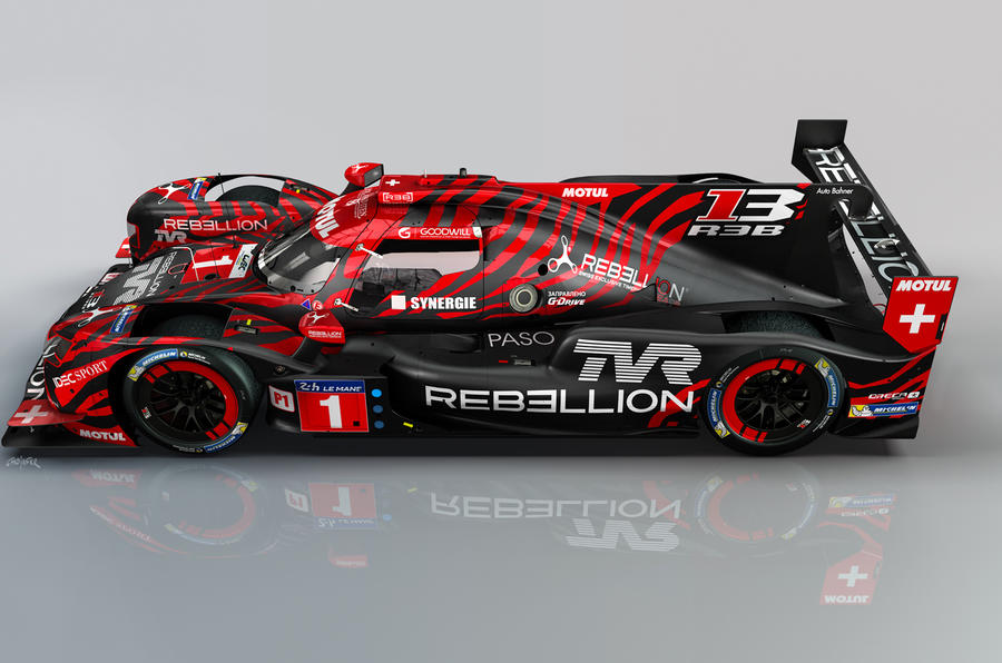 TVR returns to endurance racing with Rebellion Racing