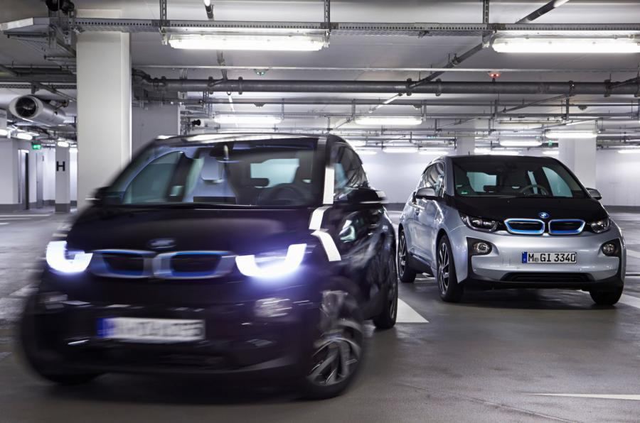 BMW i3 valet autonomous parking