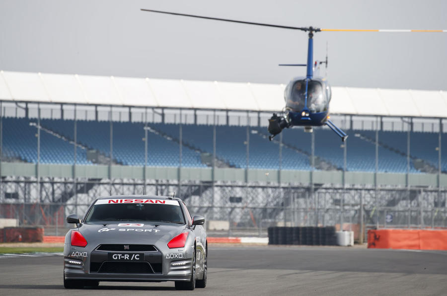 Remote-control Nissan GT-R /C created to mark new Gran Turismo launch