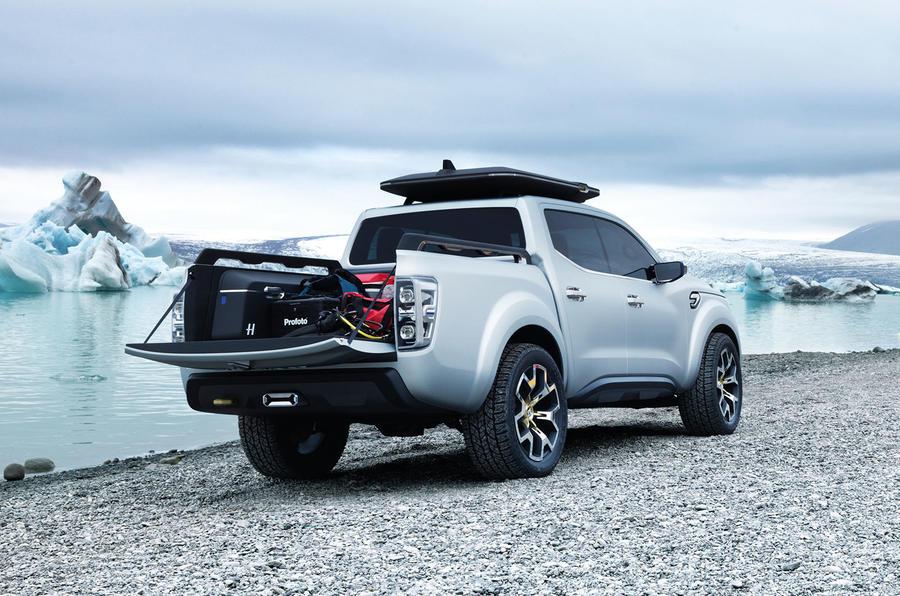 Renault Alaskan production model leaks ahead of reveal ...