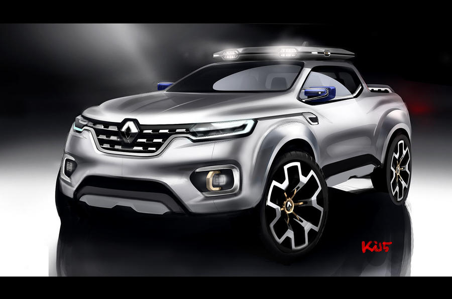 Dacia Pickup 2017 >> Renault Alaskan production model leaks ahead of reveal ...